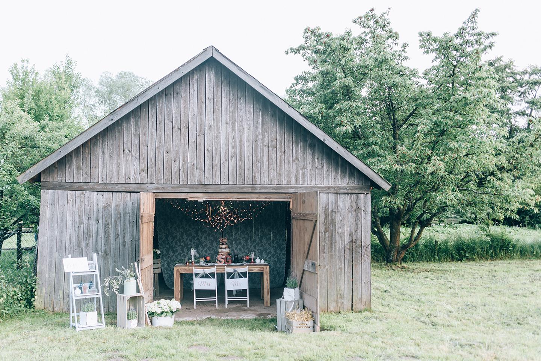 Hochzeitstrend - Altholz trifft Kupfer
