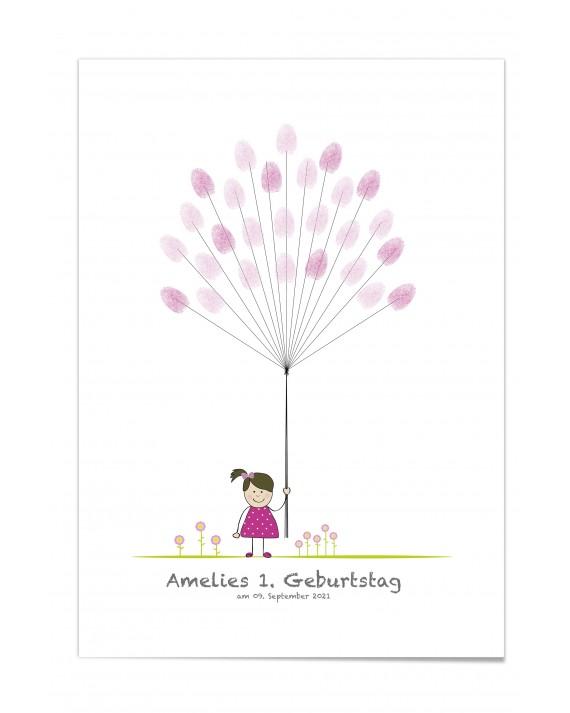 """Kinder Poster """"Amelie"""""""