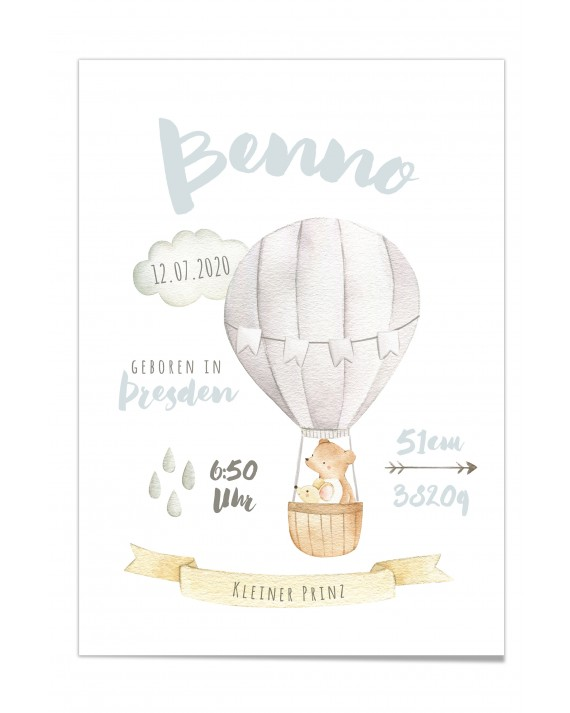 "Baby Poster ""Benno"""