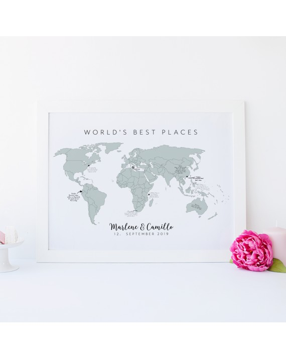 "Gästeposter ""Best Places"""