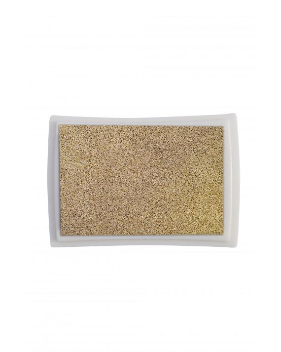 Goldenes Stempelkissen