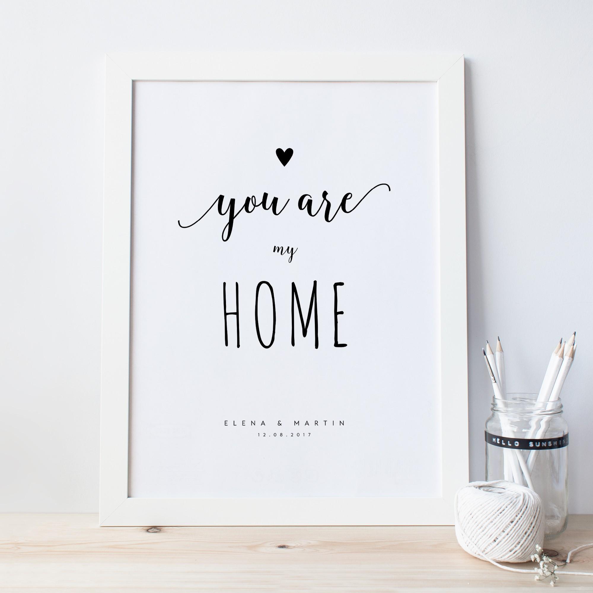 poster mit aufdruck design grusskarten. Black Bedroom Furniture Sets. Home Design Ideas