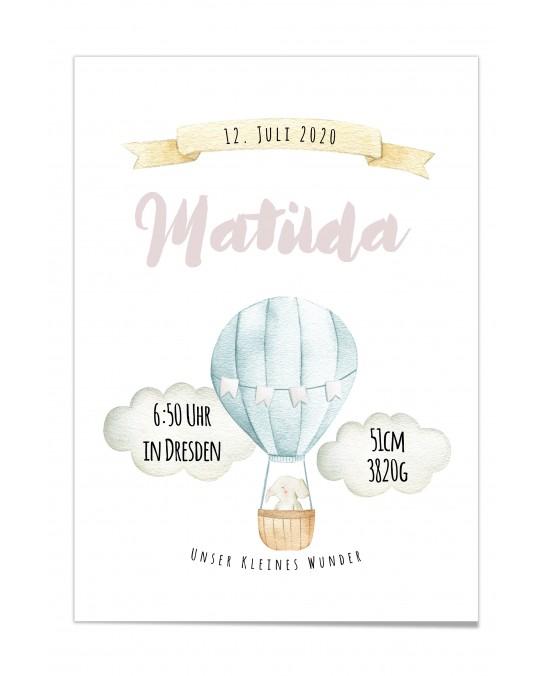 "Baby Poster ""Matilda"""