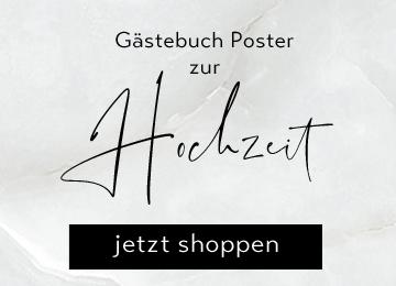 Gästebuch Poster zur Hochzeit